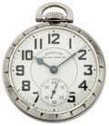 Timepieces:Pocket (post 1900), Hamilton 21 Jewel 992 B Railway Pocket Watch. ...