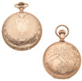 Timepieces:Pocket (post 1900), Waltham & New York Standard 18 Size Hunter's Case Pocket Watches. ... (Total: 2 Items)
