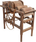 Miscellaneous:Ephemera, Cotton Gin: A Rare Early 19th Century Example of the InventionWhich Revolutionized the South.... (Total: 9 Items)