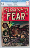 Golden Age (1938-1955):Horror, Haunt of Fear #13 (EC, 1952) CGC VF 8.0 Off-white pages....