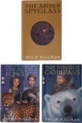 Books:Science Fiction & Fantasy, Philip Pullman. His Dark Materials Trilogy, including: The Golden Compass. New York: Alfred A. Knopf, [1... (Total: 3 Items)