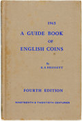 Books:Reference & Bibliography, [Coin Collecting]. Kenneth E. Bressett. A Guide Book of EnglishCoins. Nineteenth and Twentieth Centuries. Racine: W...