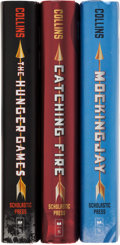Books:Children's Books, Suzanne Collins. The Hunger Games Trilogy. New York:Scholastic Press, [2008-2010]. Titles include: The ... (Total: 3Items)