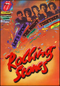 "Movie Posters:Rock and Roll, Let's Spend the Night Together (Film USA, 1990). Czech Poster(22.5"" X 32""). Rock and Roll.. ..."