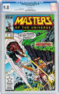 Modern Age (1980-Present):Science Fiction, Masters of the Universe #8 (Marvel, 1987) CGC NM/MT 9.8 Whitepages....