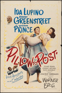 "Pillow to Post (Warner Brothers, 1945). One Sheet (27"" X 41""). Comedy"