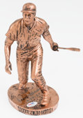 Baseball Collectibles:Others, Frank Robinson Signed Sculpture - Numbered 7/50. ...