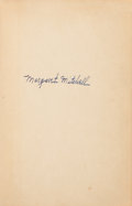 Books:Fiction, Margaret Mitchell. Gone with the Wind. New York: TheMacmillan Company, 1936. First edition, first printing. Signe...