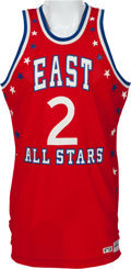 Basketball Collectibles:Uniforms, 1984 Moses Malone Game Issued All-Star Jersey. ...