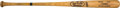 Baseball Collectibles:Bats, 1990's Mickey Mantle Signed Portrait Bat. ...
