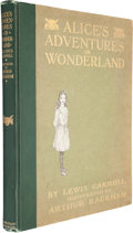 Books:Children's Books, [Arthur Rackham, illustrator]. Lewis Carroll. Alice's Adventuresin Wonderland. Illustrated by Arthur Rackham. W...