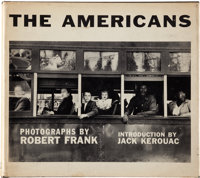 [Robert Frank, photographer]. The Americans. Introduction by Jack Kerouac. New York: Grove Pres