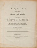 Books:Business & Economics, Adam Smith. An Inquiry into the Nature and Causes of the Wealthof Nations. London: Printed for W. Strahan; and ...