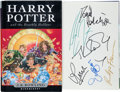 Books:Children's Books, J. K. Rowling. Harry Potter and the Deathly Hallows. London:Bloomsbury, [2007]. First trade edition. Signed by Ro... (Total: 3Items)