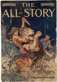 Edgar Rice Burroughs. Tarzan of the Apes. In The All-Story, Volume XXIV