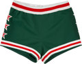 Basketball Collectibles:Others, 1977 NBA All-Star Game Worn Shorts. ...