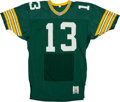 Football Collectibles:Uniforms, 1991 Chris Jacke Game Worn Green Bay Packers Jersey....