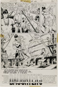 """Original Comic Art:Complete Story, Alex Nino - Adventure Comics #427, Complete 7-page Story """"CaptainFear in His Daughter's Keeper"""" Original Art (DC, 1973). In...(Total: 7 Items)"""