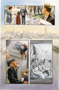 Original Comic Art:Panel Pages, Alex Ross - Marvels #3, page 9 Original Art (Marvel, 1994). In thethird issue of Kurt Busiek and Alex Ross' superb Marvel...