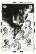 "Original Comic Art:Covers, Jack Sparling - Secret Six #3 Cover Original Art (DC, 1968). JackSparling's dynamic use of ""forced perspective"" makes for a..."