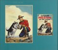 Original Comic Art:Covers, Western Publishing Artist - Sergeant Preston of the Yukon #13 CoverOriginal Art (Dell, 1954). A Mountie always gets his man...