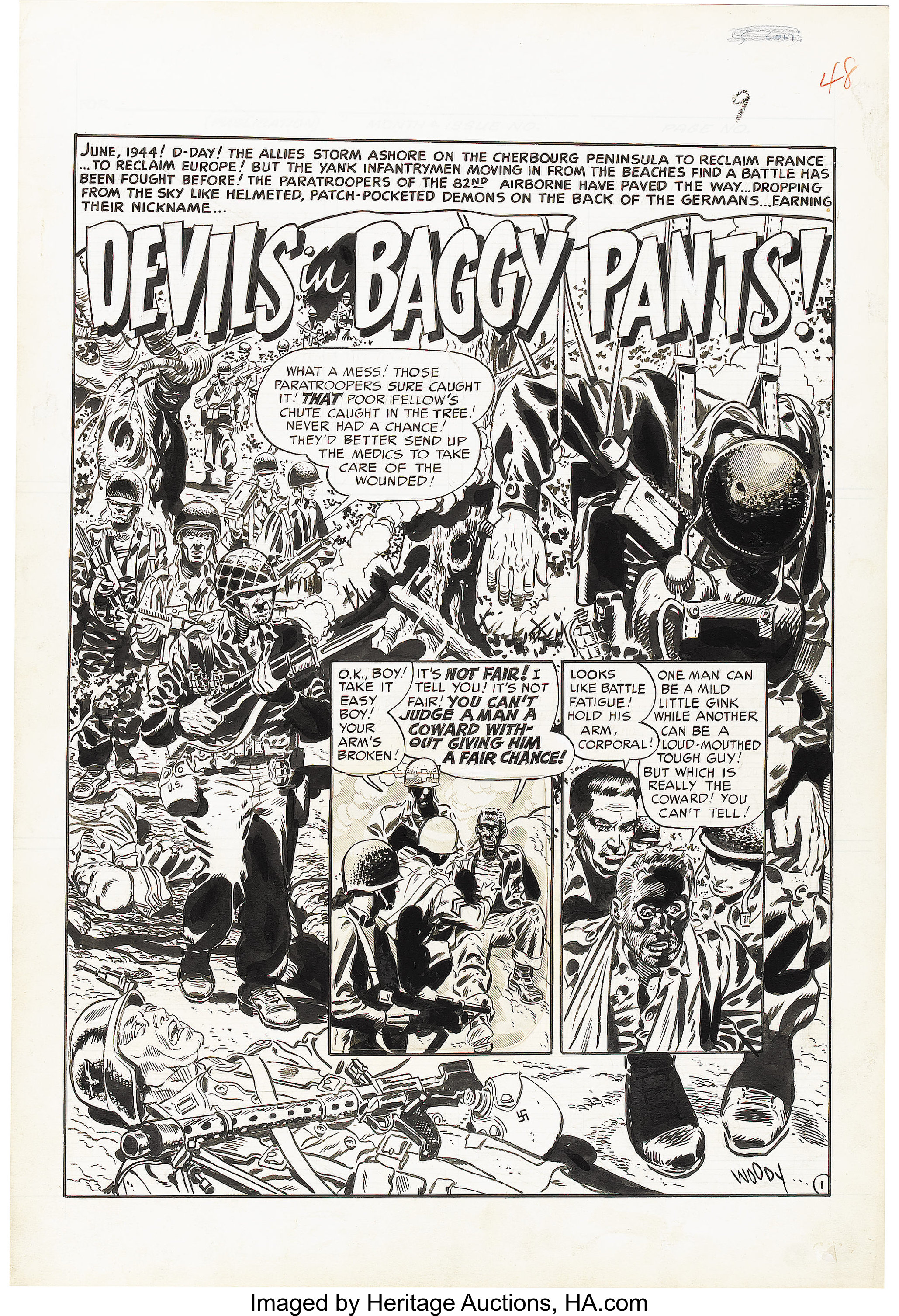 Wally Wood - Two-Fisted Tales #20 Complete 7-Page Story