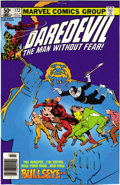 Original Comic Art:Miscellaneous, Daredevil #172 Cover Color Key Film Set (Marvel, 1981). Frank Miller's slam-bang cover scene starring Daredevil, the Kingpin...