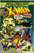 Original Comic Art:Miscellaneous, X-Men #94 Cover Color Key Film Set (Marvel, 1975). Gil Kane and Dave Cockrum's explosive cover scene, featuring the all-new,...