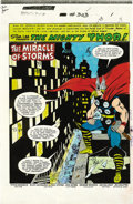 Original Comic Art:Miscellaneous, George Roussos - Thor #303 Color Guide, Group of 22 (Marvel, 1981).George Roussos created these vivid color guides for Th...