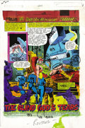 Original Comic Art:Miscellaneous, George Roussos - Fantastic Four #225 Color Guide, Group of 22(Marvel, 1980). Bill Sienkiewicz and Pablo Marcos illustrated ...