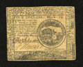 Colonial Notes:Continental Congress Issues, Continental Currency May 9, 1776 $4 Very Fine+. A little tightnessis noticed at left on this well inked example that has an...