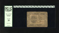 Colonial Notes:Continental Congress Issues, Continental Currency November 2, 1776 $7 PCGS Very Fine 20. Flecksof mica are still present on this evenly circulated odd d...
