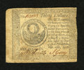 Colonial Notes:Continental Congress Issues, Continental Currency September 26, 1778 $30 Very Fine-ExtremelyFine. A little roughness is seen at right which has taken aw...