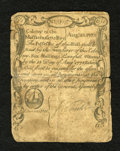 Colonial Notes:Massachusetts, Massachusetts August 18, 1775 6s Very Fine. An unusually high graded example for this issue and, unlike most all of its cont...