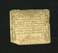 Colonial Notes:Massachusetts, Massachusetts October 16, 1778 2d Very Good. This is a scarce issuewith this example exhibiting a clipped lower left-hand c...