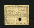 Colonial Notes:Massachusetts, Massachusetts May 5, 1780 $1 Very Fine, HC. This hole cancelledexample was once mounted with a stamp hinge....