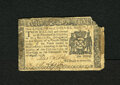 Colonial Notes:New York, New York August 13, 1776 $1/8 Fine. The upper right-hand corner ismissing and glue residue is found on the left and right e...