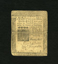 Colonial Notes:Pennsylvania, Pennsylvania July 1, 1757 20s Very Fine. A lovely example of thisvery scarce issue that is well margined with good signatur...