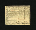 Colonial Notes:Rhode Island, Rhode Island July 2, 1780 $1 Fully Signed Choice New. A crisp and crackling fresh example of this Rhode Island issue that is...