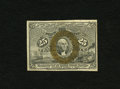 """Fractional Currency:Second Issue, Fr. 1284 25c Second Issue """"63 only"""" Variety Very Choice New. This is a lovely example of this scarcer """"63"""" only variety whic..."""