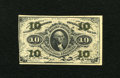 Fractional Currency:Third Issue, Fr. 1251 10c Third Issue About New. Two folds are found in one corner and a pinhole is spotted. The Red Backs for this desig...