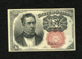 """Fractional Currency:Fifth Issue, Fr. 1266 Milton 5R10.2d 10c Fifth Issue Courtesy Autograph ChoiceNew. This note is signed on the back, """"Jas Gilfillan - 187..."""