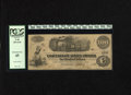 Confederate Notes:1862 Issues, T40 $100 1862. Interest was paid at Raleigh for this $100. PCGSExtremely Fine 45....