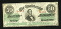 Confederate Notes:1863 Issues, T57 $50 1863. A pencilled Criswell number is found on the back.Very Fine....