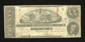 Confederate Notes:1863 Issues, T58 $20 1863. Signs from a previous mounting are observed. Fine....