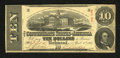 Confederate Notes:1863 Issues, T59 $10 1863. This note has toned a shade. Very Fine....