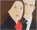 Prints:Contemporary, ALEX KATZ (American, b. 1927). Alex and Ada. Silkscreen incolors. 30 x 36 inches (76.2 x 91.4 cm). Ed. 9/75. Signed and...