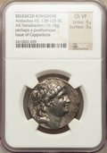 Ancients:Greek, Ancients: SELEUCID KINGDOM. Antiochus VII (138-129 BC). ARtetradrachm (16.18 gm)....