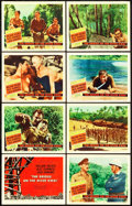 "Movie Posters:War, The Bridge on the River Kwai (Columbia, 1958). Lobby Card Set of 8(11"" X 14"").. ... (Total: 8 Items)"