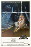 """Movie Posters:Science Fiction, Star Wars (20th Century Fox, 1977). One Sheet (27"""" X 41"""")Soundtrack.. ..."""